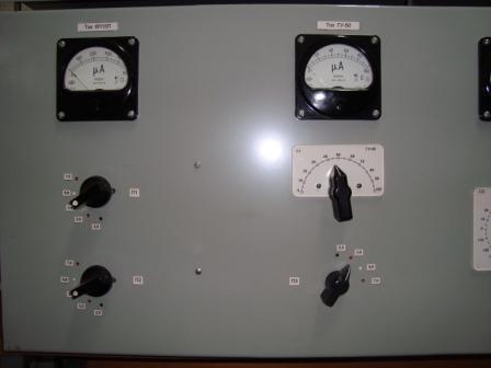 Усилитель имеет три каскада на лампах 6П15П, ГУ-50 и ГУ-81М.